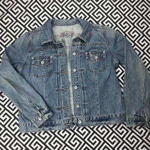 •GAP• denim jacket XL